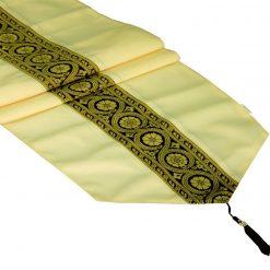 Avioni Premium Faux Silk Ethnic multicolor Table Runner Festival Collection -57 x 12.5 Inches