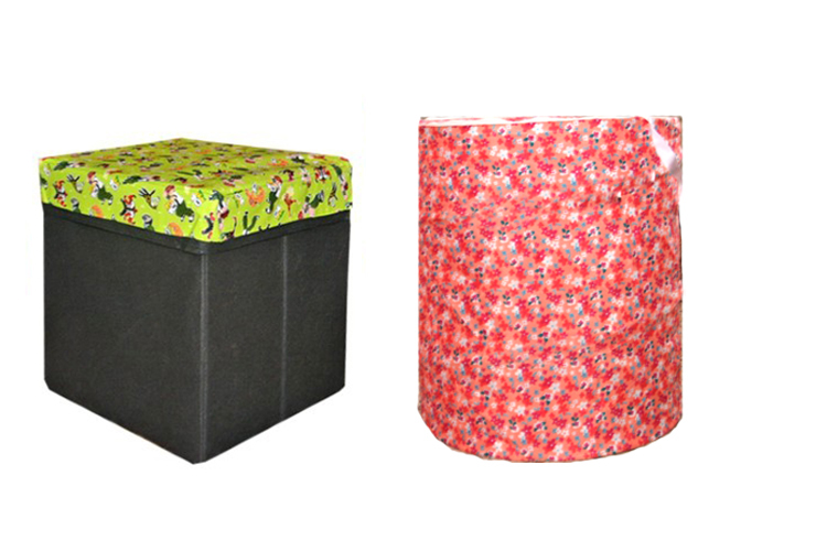 Avioni Storage Combo 2 in 1 One Storage Box and One Laundry bag Multicolor
