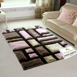 Handloom Rugs Carpets For Living Room 3D Multicolor by Avioni