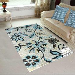 Floral Carpet | Loop Pile | Best Wool Carpets | Avioni