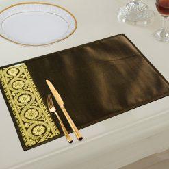 Avioni Premium Faux Silk Table mats Quality ( Set of 6)