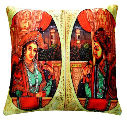 3D Cushion Covers Royal Bride In Her Best- Best Price 16 X 16 Inch (set of 5) by Avioni