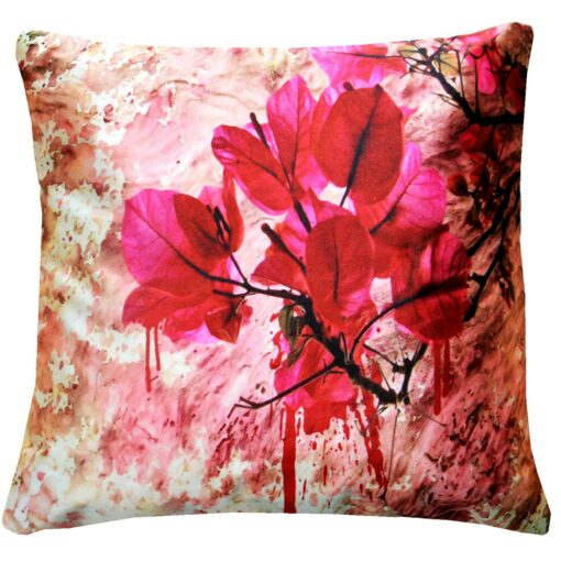 3D Cushion Covers Be In The Nature With Flowers- Best Price 16 X 16 Inch (set of 5) by Avioni