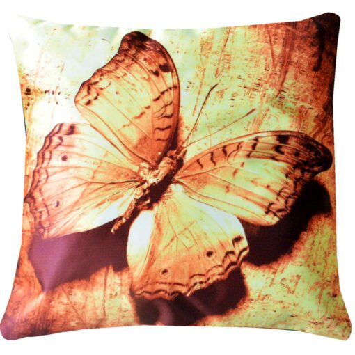 3D Cushion Covers Beautiful Butterfly- Best Price 16 X 16 Inch (set of 5) by Avioni