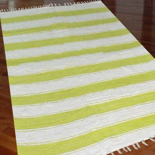 Luxe Soft Premium Chenille Dhurrie Multicolor - 3 X 5 Feet by Avioni