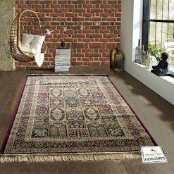 Persian Rugs – Silk Luxury Floor Carpet – 4X6 Feet -Avioni