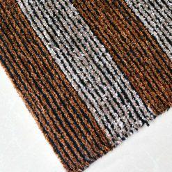 Avioni Handloom Coffee Solid Premium Bedside Carpet (22X55 Inch)