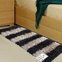 Avioni Handloom multicolor Premium Bedside Carpet (22X55 Inch)