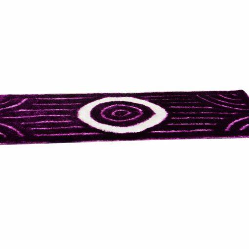 Bedside 3D Runner/Carpet in Purple by Avioni