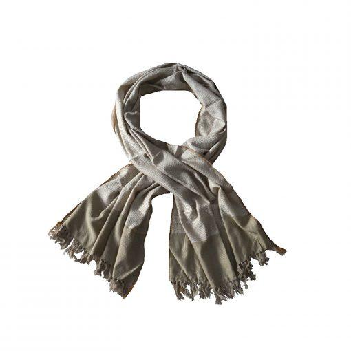 Himalayan Handloom 100% Pure Merino Wool And Silk Designer Stole In Gift Box by Avioni