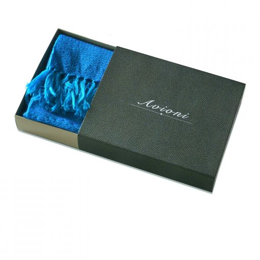 Himalayan Handloom 100% Pure Merino Wool Designer Stole In Gift Box by Avioni