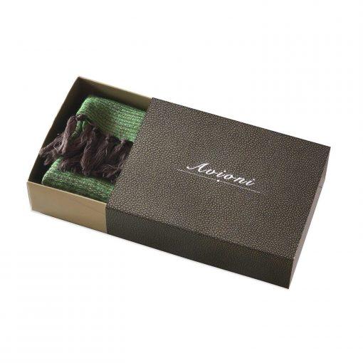 Himalayan Handloom 100% Pure Wool Designer Scarf In Gift Box by Avioni