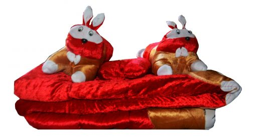 Beautiful Baby Bedding Set (Set of 5) in Red by Avioni