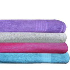Bath Towels 100% Cotton Set of 4 by Avioni