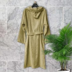 Loomkart Very Fine Export Quality Bath Robes in Beige- Large Size
