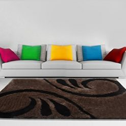 Handloom Rugs Carpets For Living Room In Coffee and Beige by Avioni