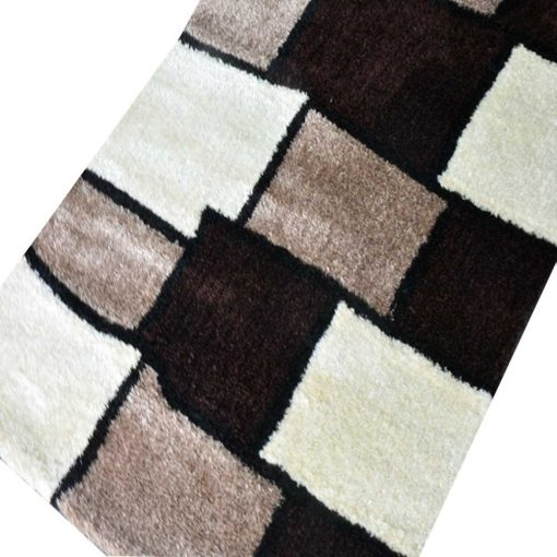 Modern Multicolor Square Beautifully patterned Carpet for Living/ Drawing Room 3 X 5 Feet by Avioni