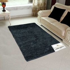 Handloom Rugs Carpets For Living Room Solid Colors Blue – Avioni