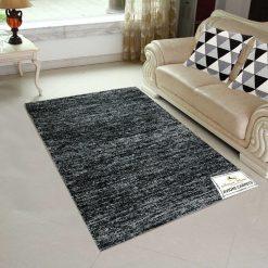 Solid Handloom Black Shaded Rug/ Carpets 4 x 6 Feet By Avioni