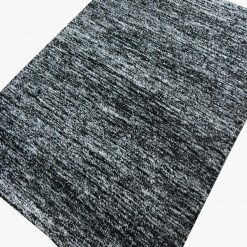 Solid Handloom Black Shaded Rug/ Carpets 3 x 5 Feet By Avioni