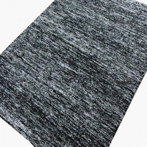 Solid Handloom Black Shaded Rug/ Carpets 3 x 5 Feet By Avioni