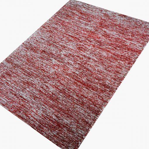 Solid Handloom Red Shaded Rug/ Carpets 3 x 5 Feet By Avioni