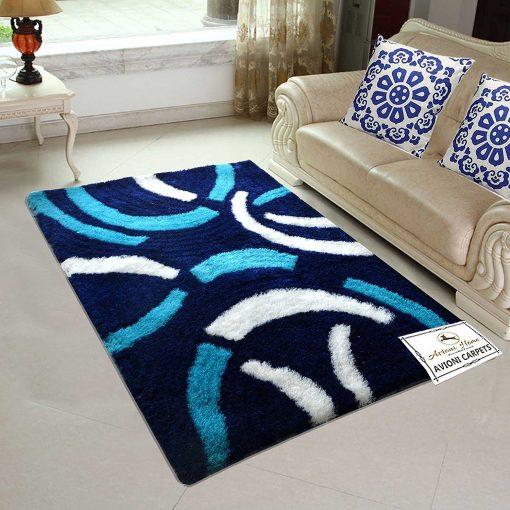 Avioni Shaggy Coffee Design Premium Carpet (3X5 Feet) …
