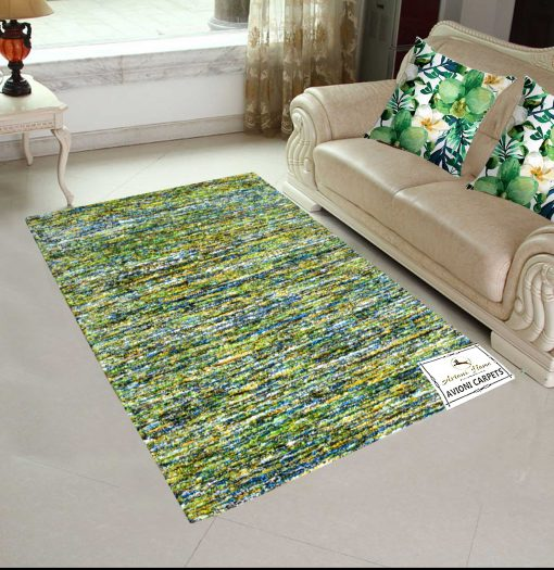 Avioni Handloom Rugs Carpets For Living Room Multicolor Stripes -3 Feet X 5 Feet