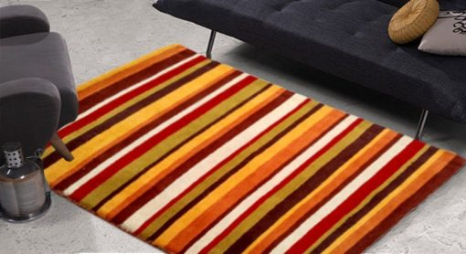 Premium Wool Carpet in Multicolor shades – 48X37 Inches by Avioni