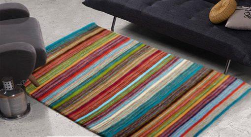 Premium Wool Carpet in Multicolor shades – 49X36 by Avioni