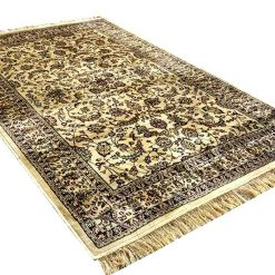 Persian Carpet – Silk  Luxury Living Room Rug – 4X6 Feet -Avioni
