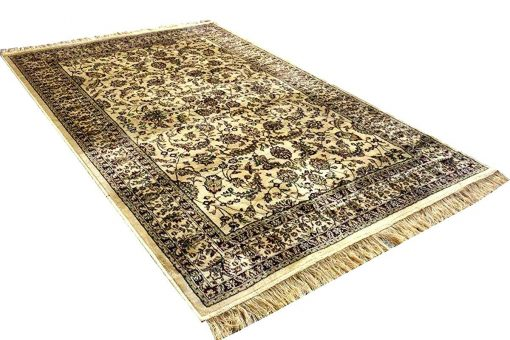 Persian Carpet - Silk  Luxury Living Room Rug - 4X6 Feet -Avioni