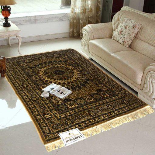 Persian Rugs – Premium Silk  Living Room Carpet – 4X6 Feet -Avioni Best Deal