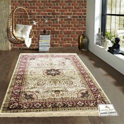 Persian Rugs – Silk  Luxury Living Room Carpet – 5X7 Feet -Avioni