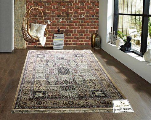 Persian Rugs - Silk Luxury Carpet - 6X9 Feet -Avioni