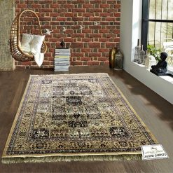 Persian Rugs – Silk Luxury Floor Carpet – 5X7 Feet -Avioni