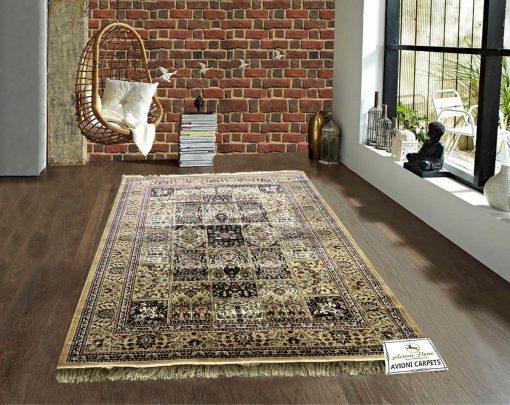 Persian Rugs – Silk Luxury Floor Carpet – 5X7 Feet -Avioni