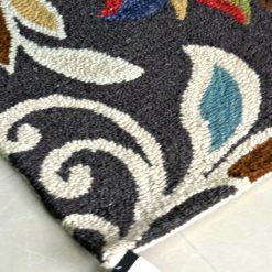 Floral Carpet | Loop Pile Wool Rug Sale  | Avioni