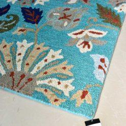 Floral Carpet | Loop Pile Carpet | Wool Rug Sale | Avioni