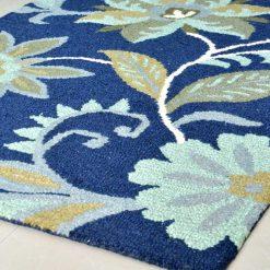 Floral Loop Pile Carpet | Wool Rug Sale |   Avioni