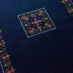Woolen Mat   Blue Carpet   Embroidered   Avioni