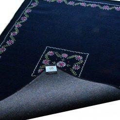 Blue Carpet | Wool Rugs | Embroidered | Avioni