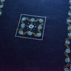 Buy Blue Carpet | Woolen Mat | Embroidered | Avioni