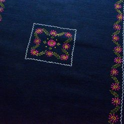 Blue Carpet Online | Woolen Mat | Embroidered | Avioni