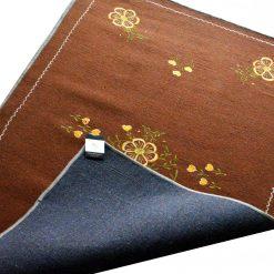 Brown Carpet | Woolen Mat Designs | Embroidered | Avioni