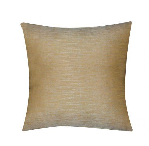 Beautiful Cushion Covers in Plain Golden 16 X 16 Inch (set of 5) by Avioni