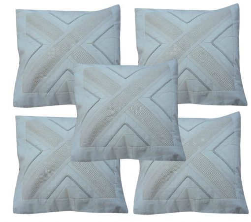 Buy unbleached Regular Use Cushion Covers 100% Cotton Online