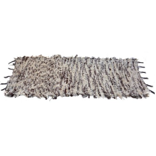 Buy Chenille Super Soft Runners Silver Color Online