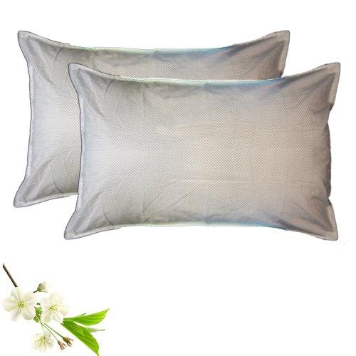 Pillow Cases - Small Polka Dots  - 100% Cotton - Set of 2 - Avioni