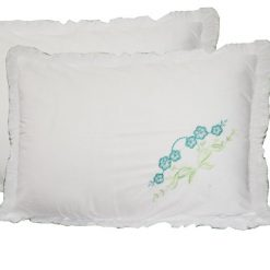 Pillow Cases – Beautiful Pillowcase 100% Cotton – Set of 2 – 67 X 45 Cms –  Avioni